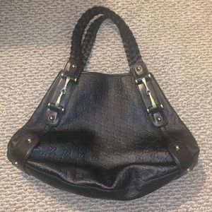 Brown leather Gucci Bag AUTHENTIC